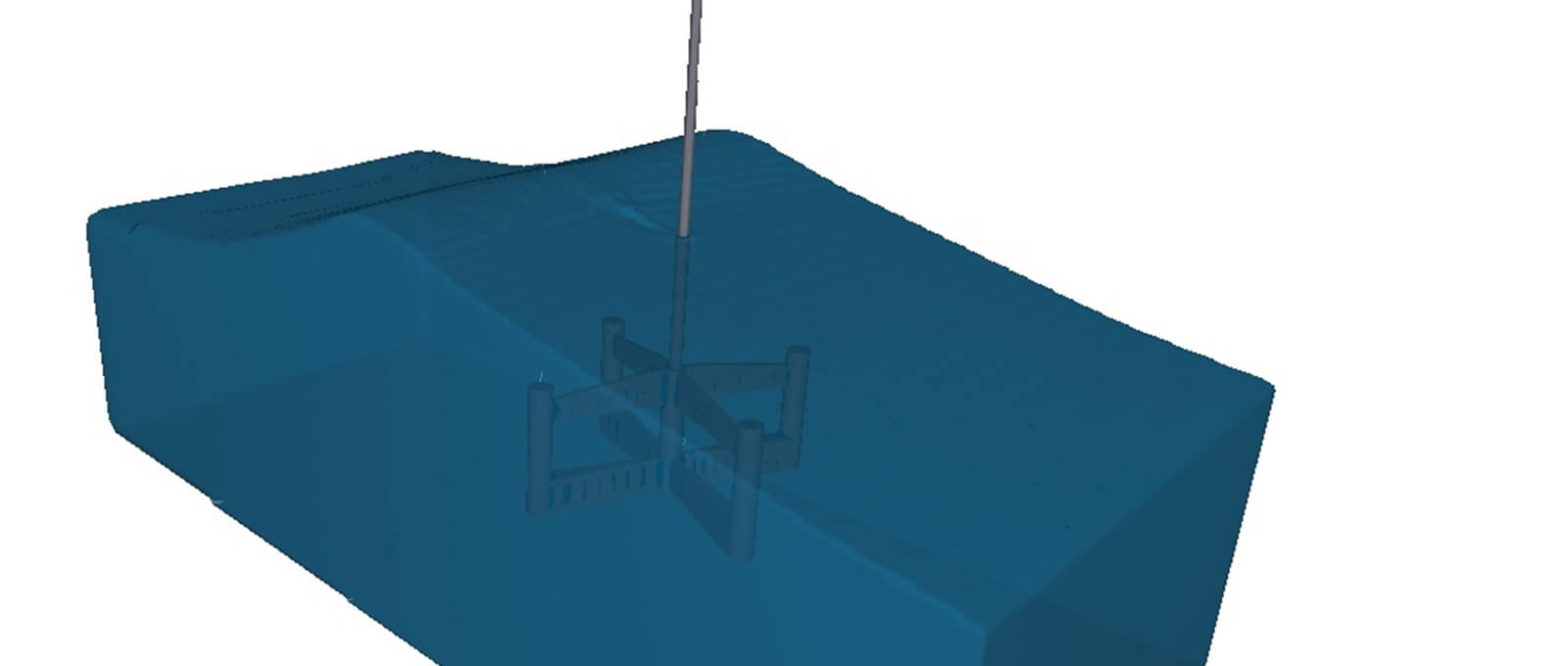 Offshore Structures - Simulation of Hydrodynamic Behaviour